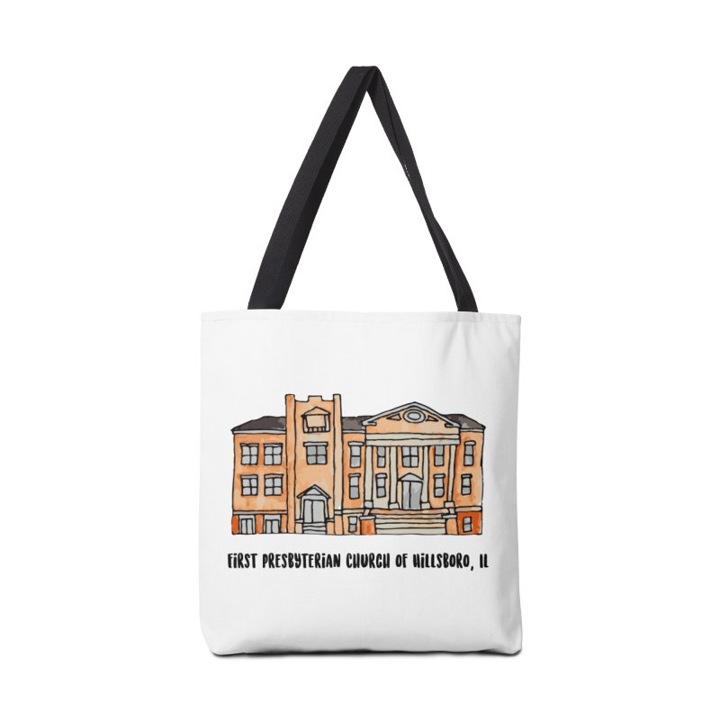 First presbyterian church Accessories Tote Bag Bag by Jodilynn Doodles's Artist Shop