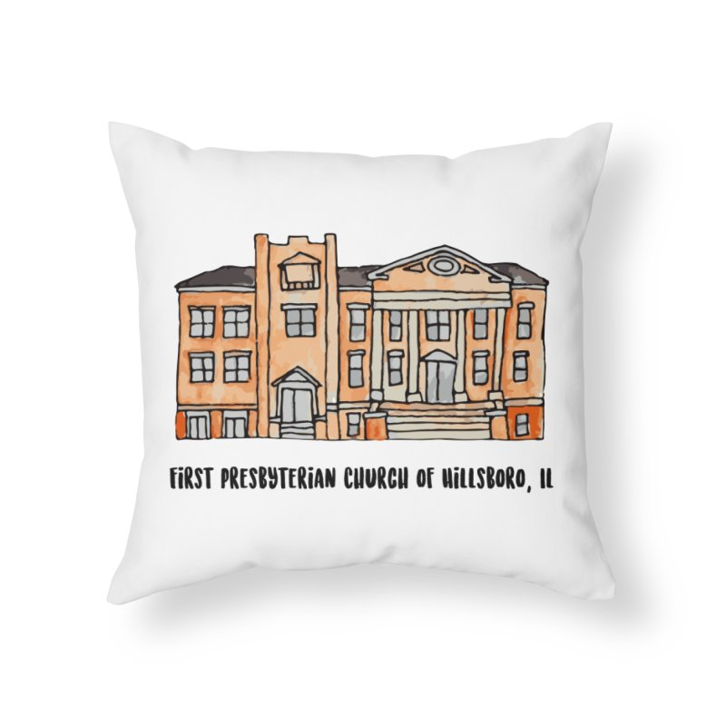 First presbyterian church Home Throw Pillow by Jodilynn Doodles's Artist Shop