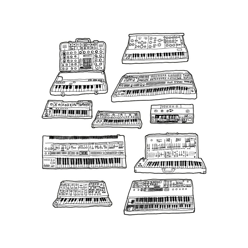 Synthesizers by Jodilynn Doodles's Artist Shop