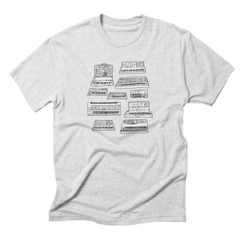 Synthesizers Men's Triblend T-Shirt by Jodilynn Doodles's Artist Shop