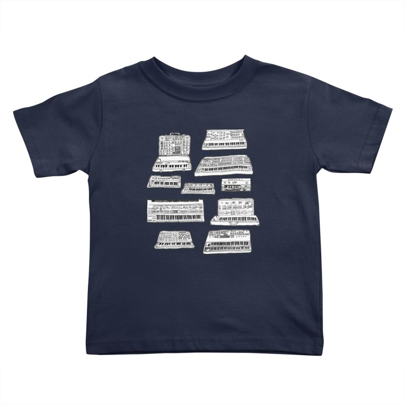 Synthesizers Kids Toddler T-Shirt by Jodilynn Doodles's Artist Shop