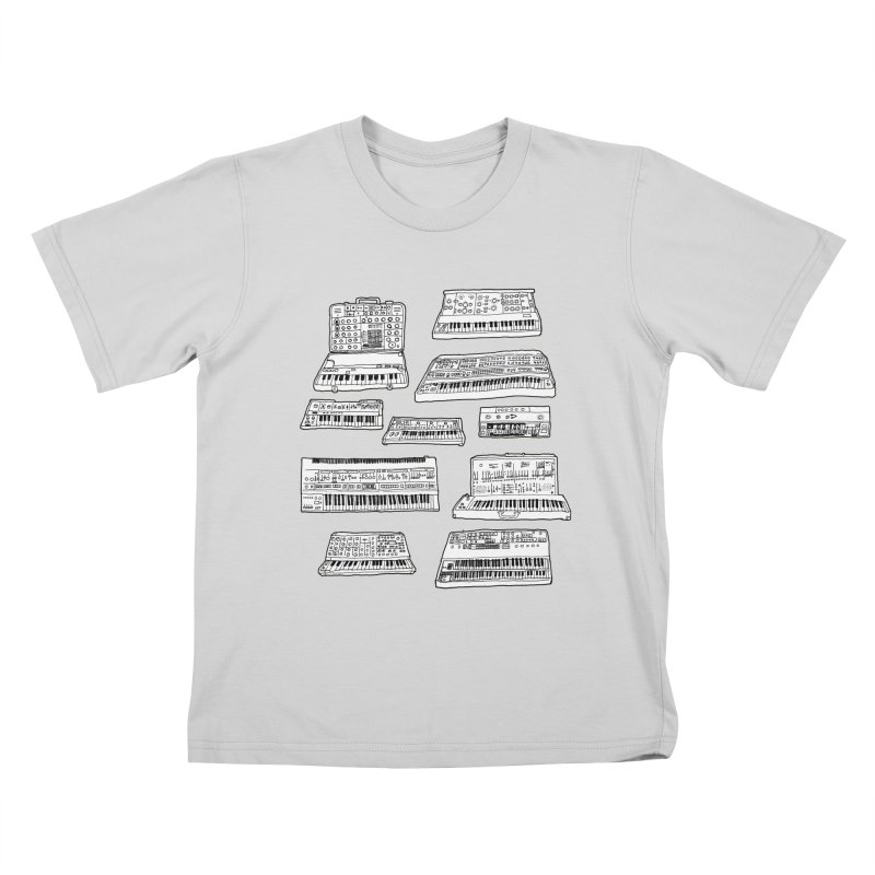 Synthesizers Kids T-Shirt by Jodilynn Doodles's Artist Shop