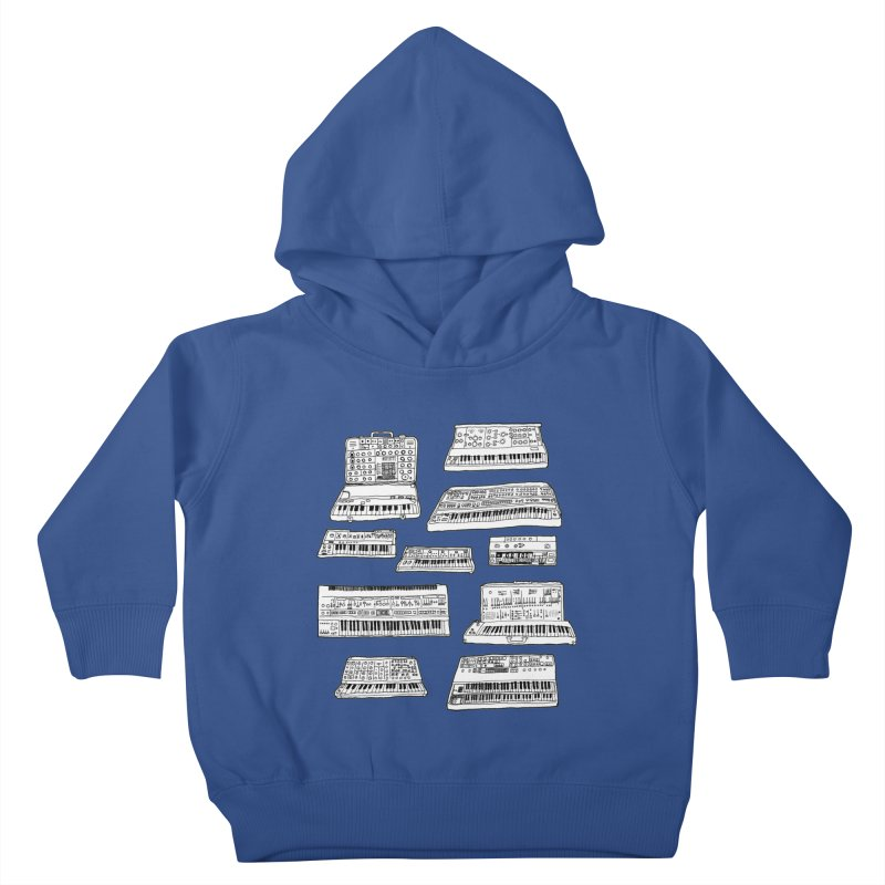 Synthesizers Kids Toddler Pullover Hoody by Jodilynn Doodles's Artist Shop
