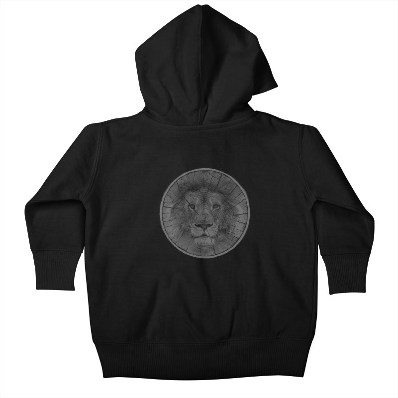 Ring Leader Kids Baby Zip-Up Hoody by His Artwork's Shop