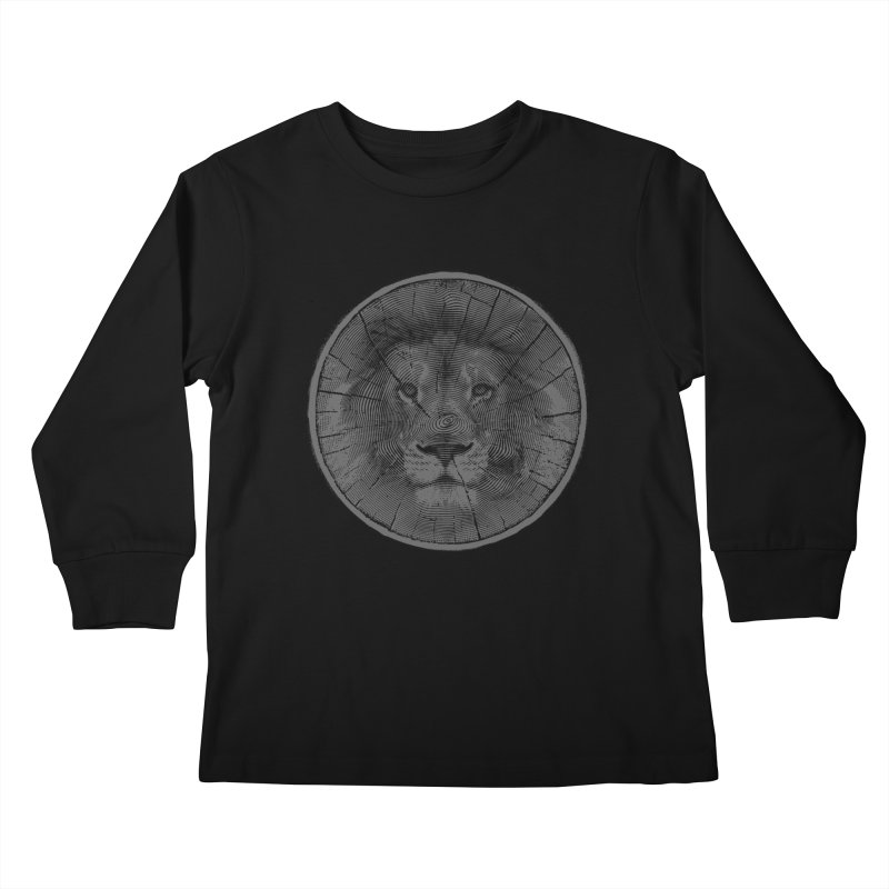 Ring Leader Kids Longsleeve T-Shirt by His Artwork's Shop