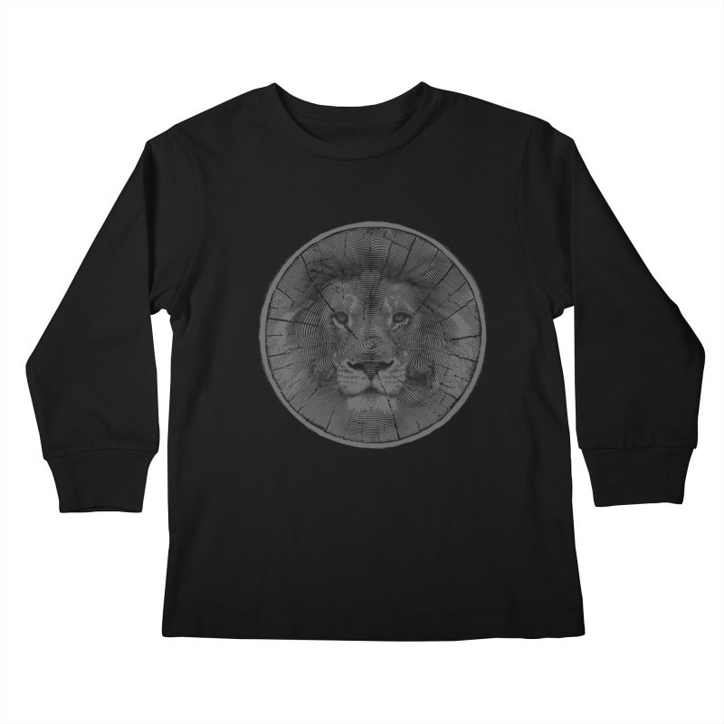 Ring Leader Kids Longsleeve T-Shirt by His Artwork's Shop