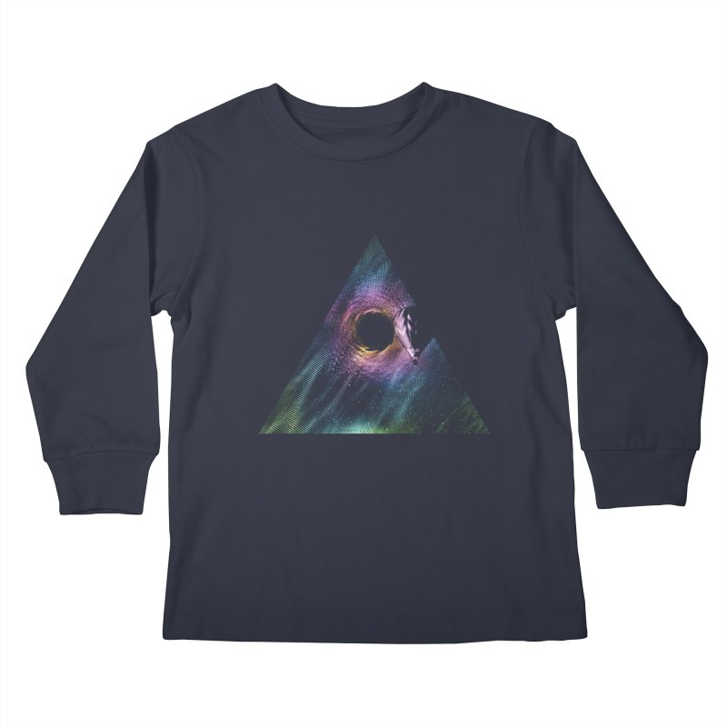 Aurora Kids Longsleeve T-Shirt by His Artwork's Shop