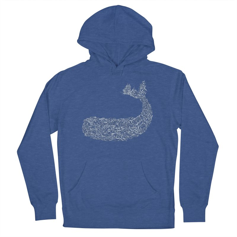 Tale of the Whale Men's Pullover Hoody by His Artwork's Shop