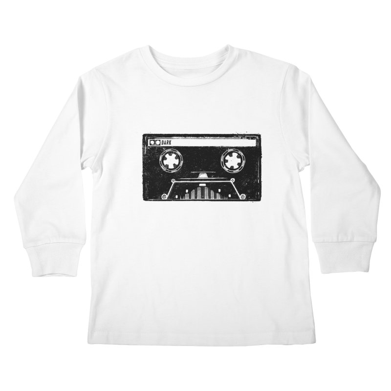 Media Wars Kids Longsleeve T-Shirt by His Artwork's Shop