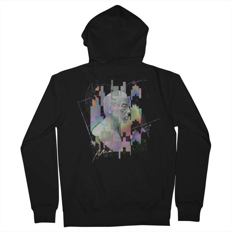 Caveat Emptor Men's Zip-Up Hoody by His Artwork's Shop