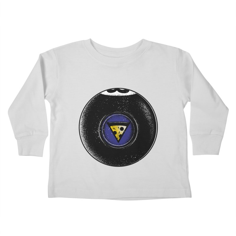 Signs point to pizza Kids Toddler Longsleeve T-Shirt by His Artwork's Shop
