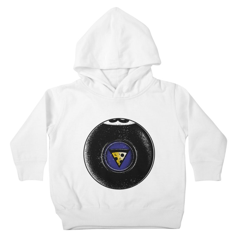 Signs point to pizza Kids Toddler Pullover Hoody by His Artwork's Shop