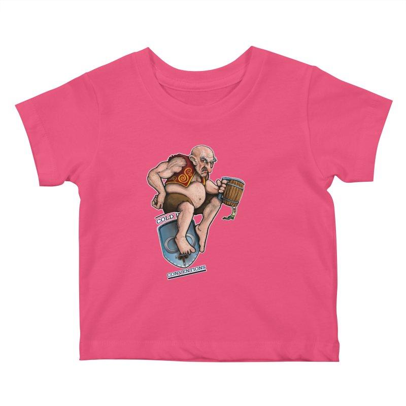 Cold Iron Giant Kids Baby T-Shirt by Joe Abboreno's Artist Shop