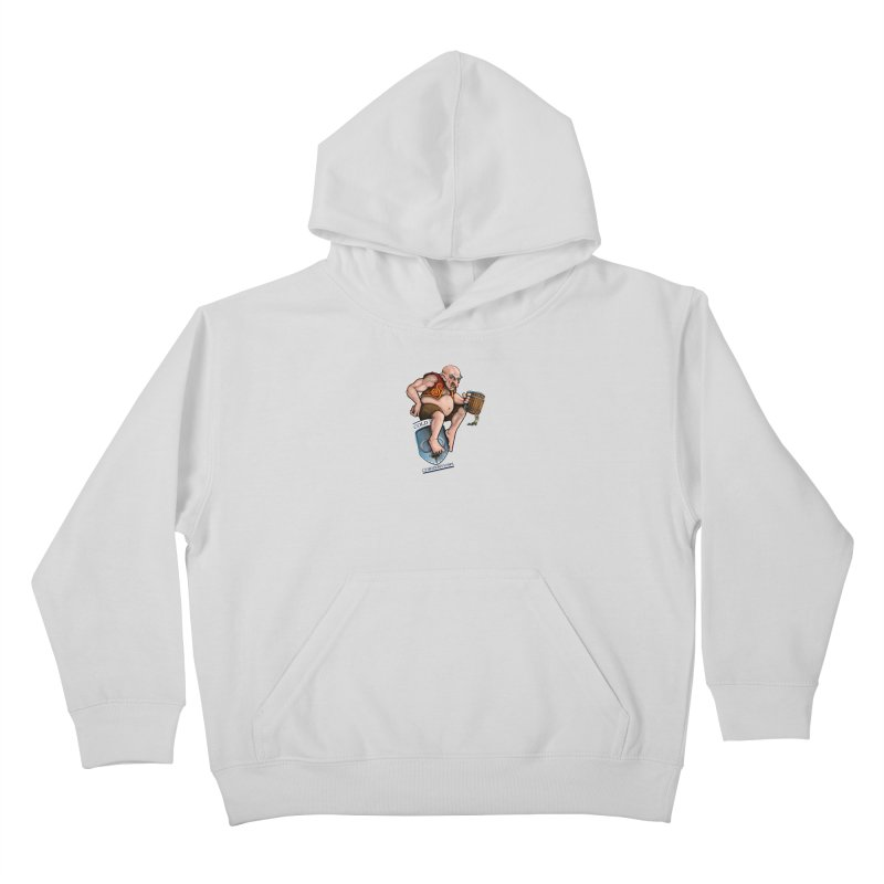 Cold Iron Giant Kids Pullover Hoody by Joe Abboreno's Artist Shop