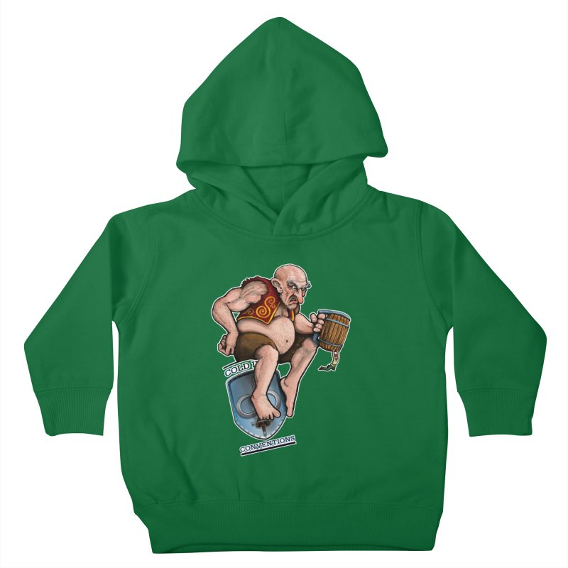 Cold Iron Giant Kids Toddler Pullover Hoody by Joe Abboreno's Artist Shop