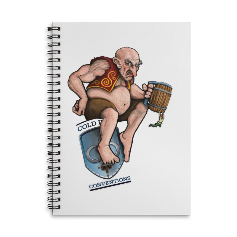 Cold Iron Giant Accessories Lined Spiral Notebook by Joe Abboreno's Artist Shop