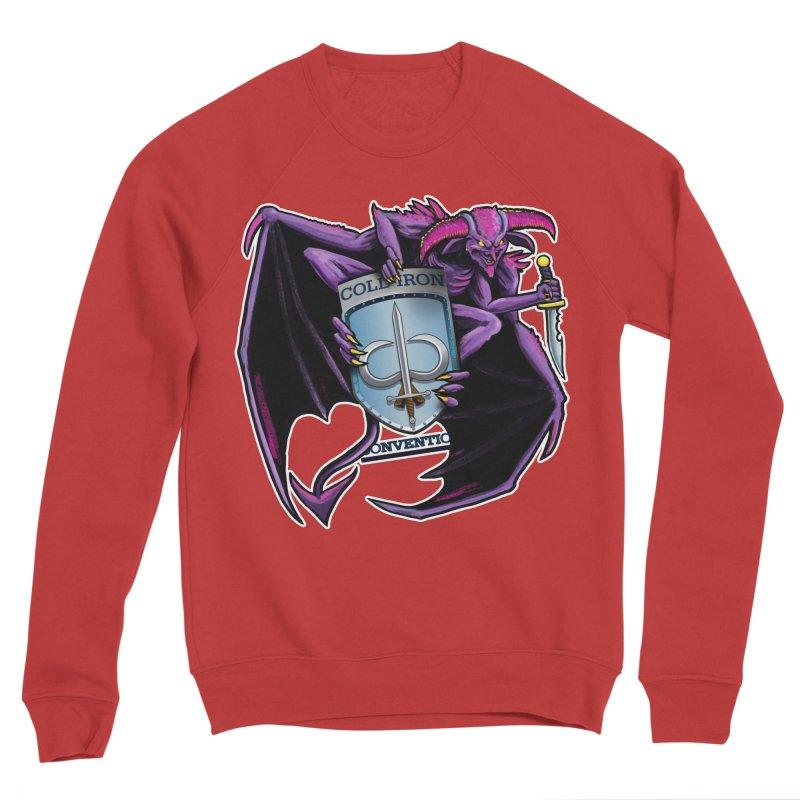 Cold Iron Imp Women's Sponge Fleece Sweatshirt by Joe Abboreno's Artist Shop