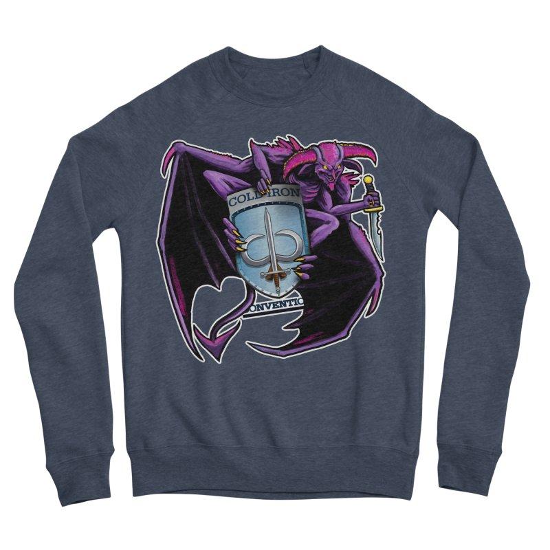 Cold Iron Imp Men's Sponge Fleece Sweatshirt by Joe Abboreno's Artist Shop