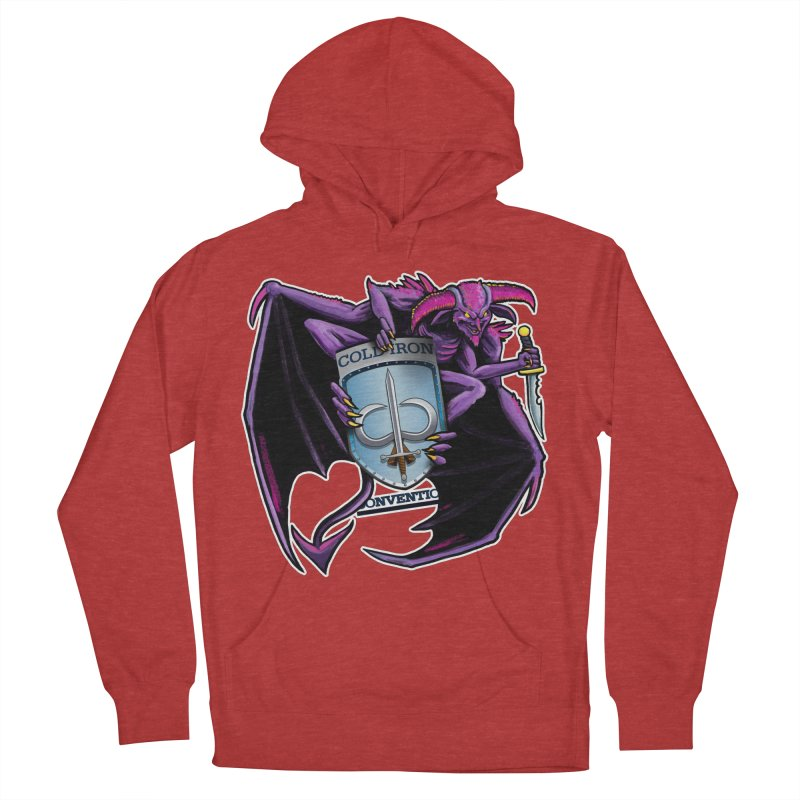 Cold Iron Imp Men's French Terry Pullover Hoody by Joe Abboreno's Artist Shop