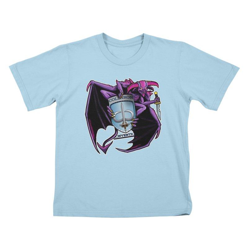 Cold Iron Imp Kids T-Shirt by Joe Abboreno's Artist Shop