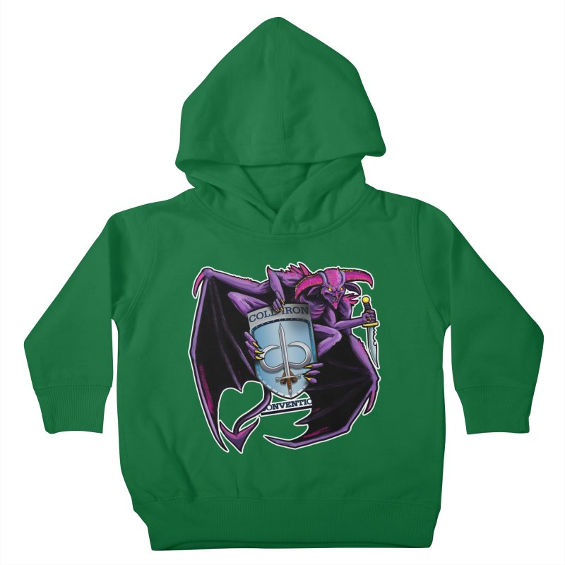 Cold Iron Imp Kids Toddler Pullover Hoody by Joe Abboreno's Artist Shop