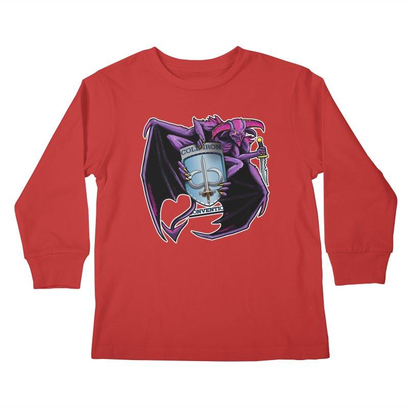 Cold Iron Imp Kids Longsleeve T-Shirt by Joe Abboreno's Artist Shop