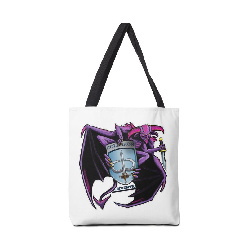 Cold Iron Imp Accessories Tote Bag Bag by Joe Abboreno's Artist Shop