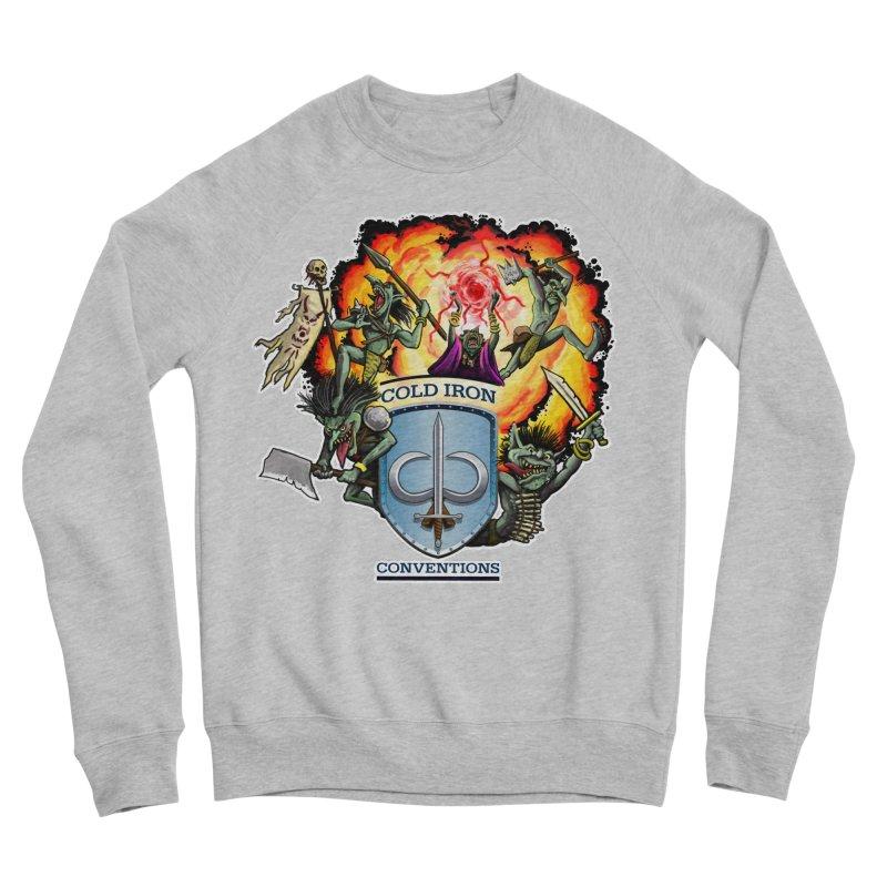 Cold Iron Goblins Men's Sponge Fleece Sweatshirt by Joe Abboreno's Artist Shop