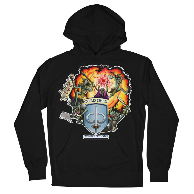 Cold Iron Goblins Men's French Terry Pullover Hoody by Joe Abboreno's Artist Shop