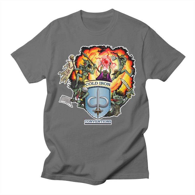Cold Iron Goblins Men's T-Shirt by Joe Abboreno's Artist Shop