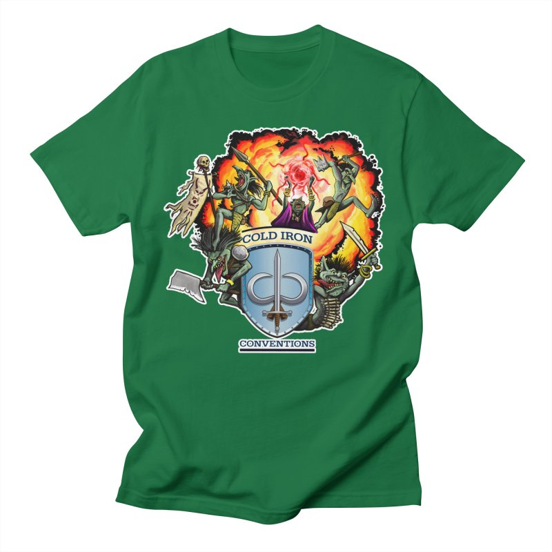 Cold Iron Goblins Women's Regular Unisex T-Shirt by Joe Abboreno's Artist Shop