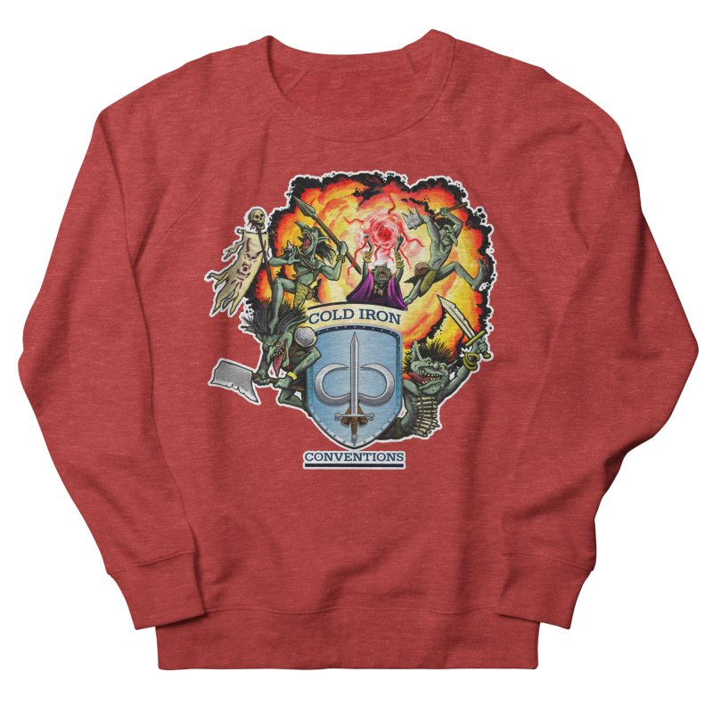 Cold Iron Goblins Women's French Terry Sweatshirt by Joe Abboreno's Artist Shop