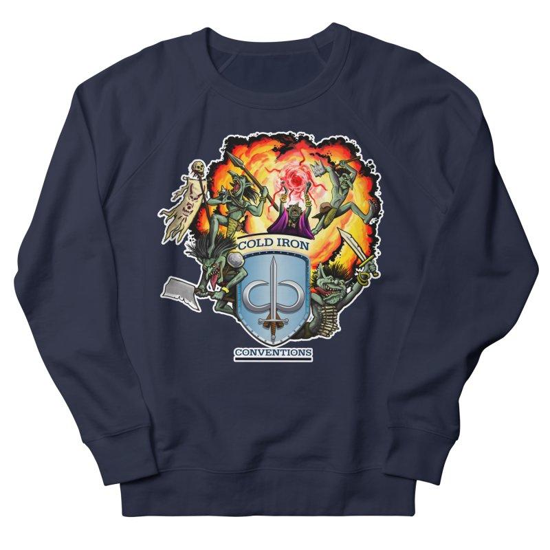 Cold Iron Goblins Men's French Terry Sweatshirt by Joe Abboreno's Artist Shop