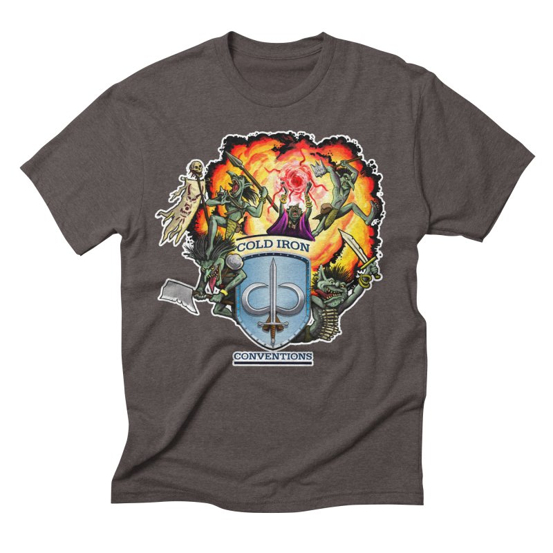 Cold Iron Goblins Men's Triblend T-Shirt by Joe Abboreno's Artist Shop