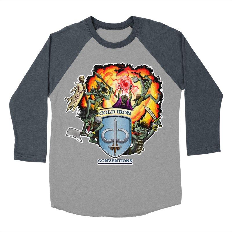 Cold Iron Goblins Women's Baseball Triblend Longsleeve T-Shirt by Joe Abboreno's Artist Shop