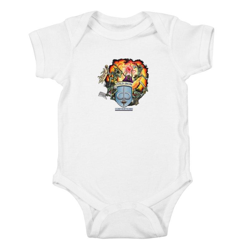Cold Iron Goblins Kids Baby Bodysuit by Joe Abboreno's Artist Shop
