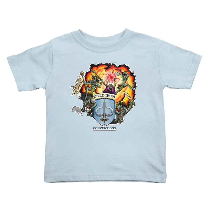 Cold Iron Goblins Kids Toddler T-Shirt by Joe Abboreno's Artist Shop