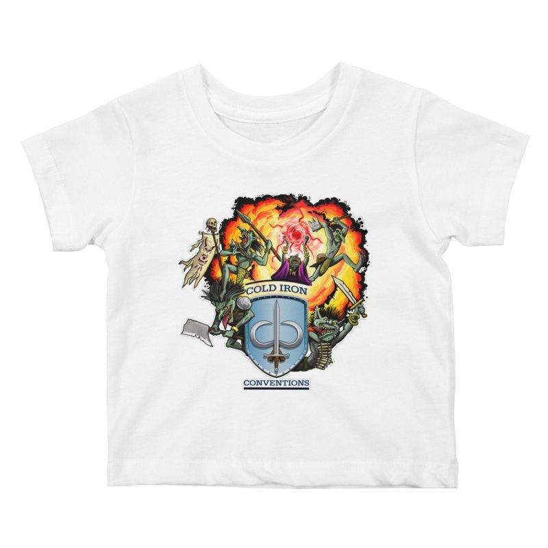Cold Iron Goblins Kids Baby T-Shirt by Joe Abboreno's Artist Shop