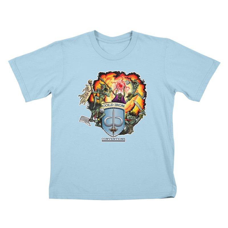 Cold Iron Goblins Kids T-Shirt by Joe Abboreno's Artist Shop
