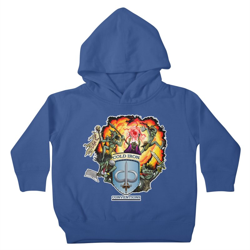 Cold Iron Goblins Kids Toddler Pullover Hoody by Joe Abboreno's Artist Shop