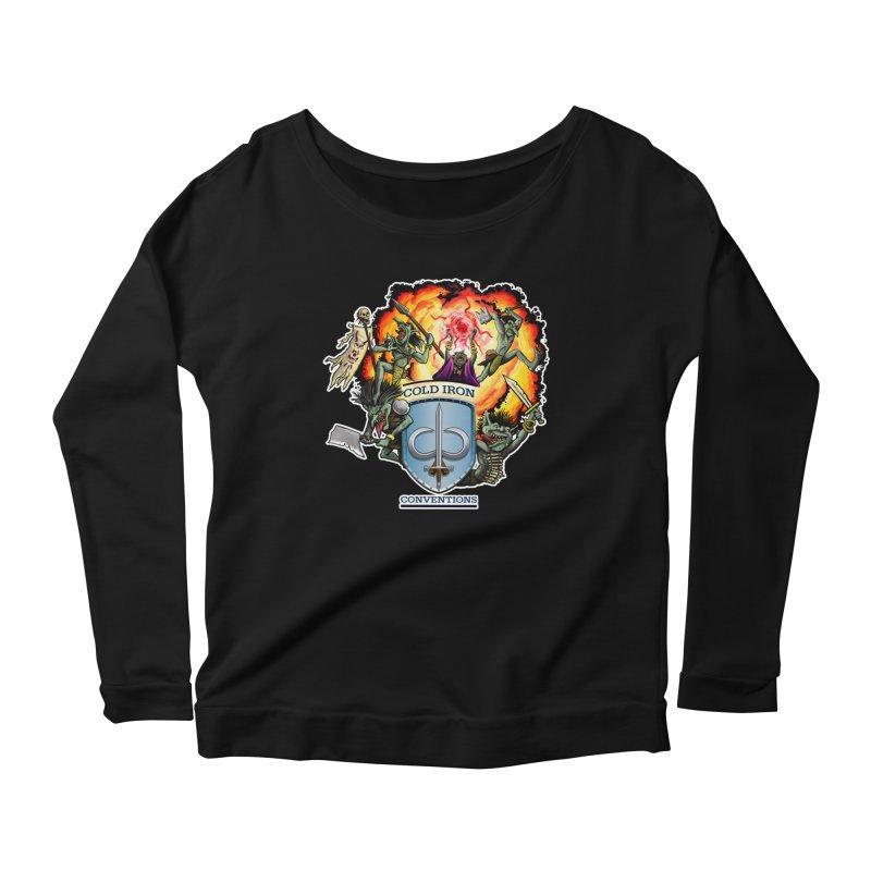Cold Iron Goblins Women's Scoop Neck Longsleeve T-Shirt by Joe Abboreno's Artist Shop