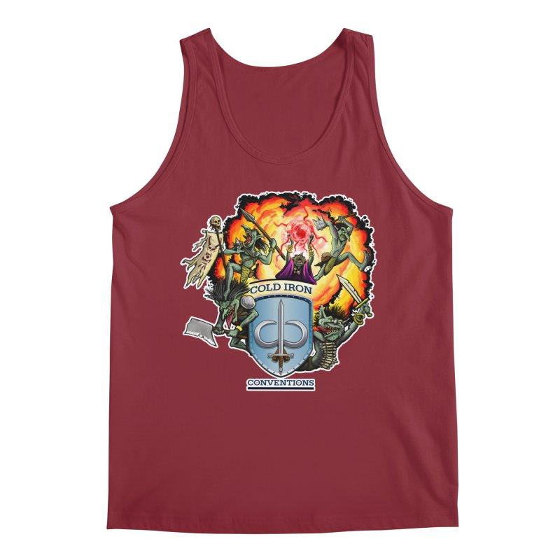 Cold Iron Goblins Men's Tank by Joe Abboreno's Artist Shop