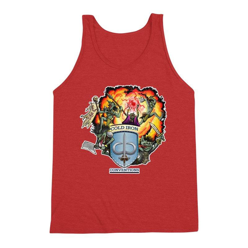 Cold Iron Goblins Men's Triblend Tank by Joe Abboreno's Artist Shop