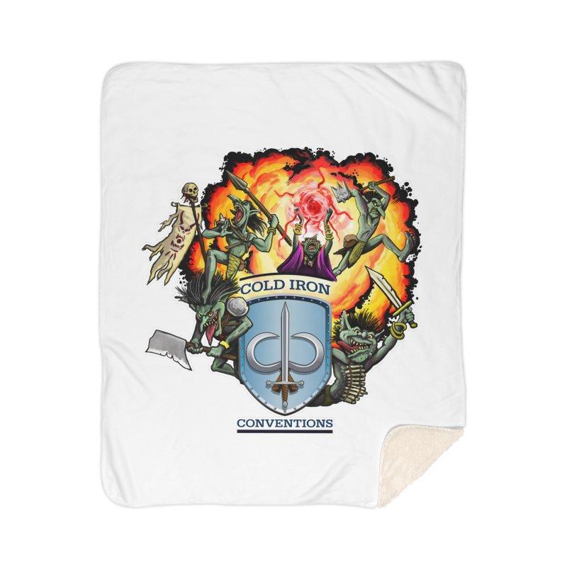 Cold Iron Goblins Home Sherpa Blanket Blanket by Joe Abboreno's Artist Shop