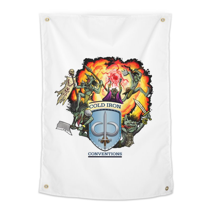 Cold Iron Goblins Home Tapestry by Joe Abboreno's Artist Shop