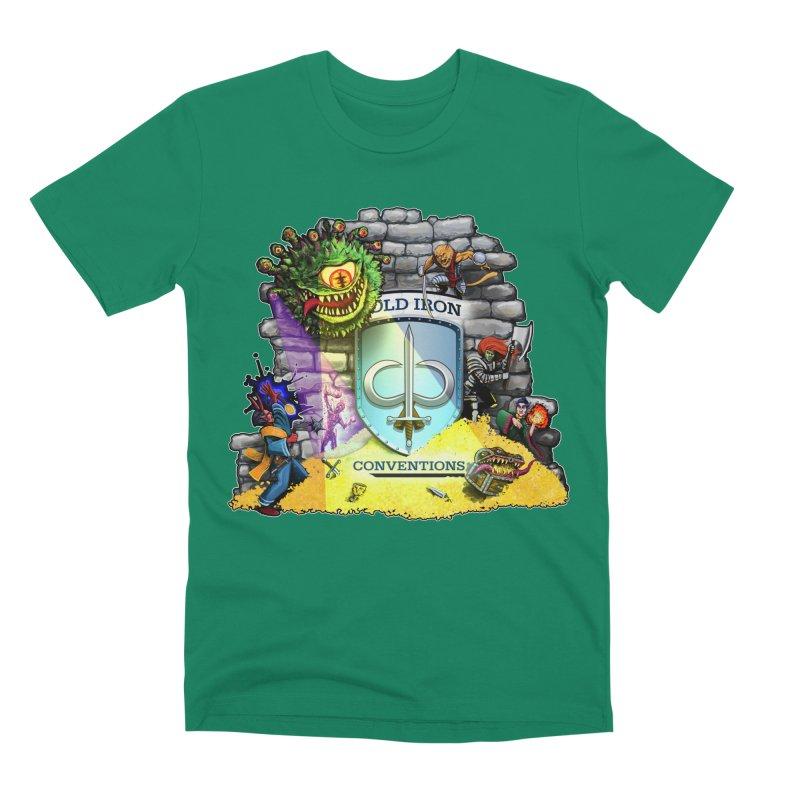 Cold Iron Beholder Men's Premium T-Shirt by Joe Abboreno's Artist Shop
