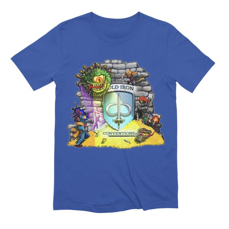 Cold Iron Beholder Men's Extra Soft T-Shirt by Joe Abboreno's Artist Shop