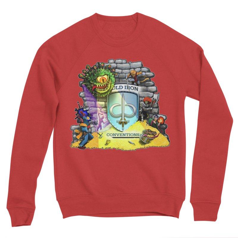 Cold Iron Beholder Women's Sponge Fleece Sweatshirt by Joe Abboreno's Artist Shop