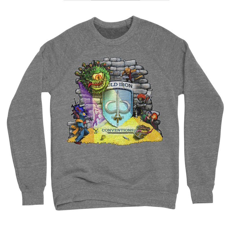 Cold Iron Beholder Men's Sponge Fleece Sweatshirt by Joe Abboreno's Artist Shop