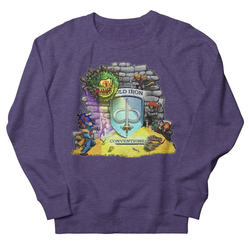 Cold Iron Beholder Women's French Terry Sweatshirt by Joe Abboreno's Artist Shop